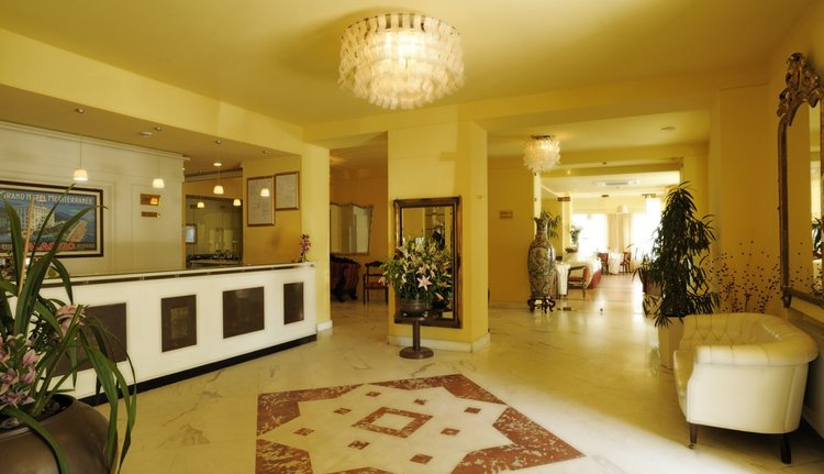 Hotel Mediterranee - receptie
