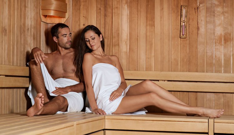 Ook beschikt Hotel Golf over een sauna
