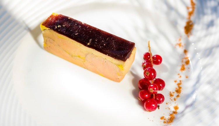 Proef de 'foie gras' in hotel du Béryl St. Brevin