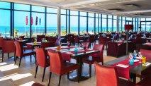 Hotel du Béryl St. Brevin met preachtige serre aan het restaurant