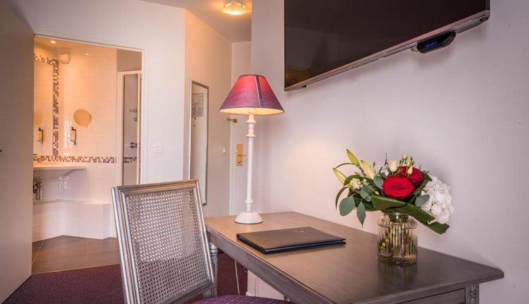 Best Western Hostellerie du Vallon - 2-persoonskamer, badkamer