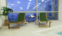 Hotel Triglav Bled - wellness relaxen op het terras