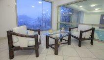 Een heerlijk lounge bij Hotel Triglav Bled