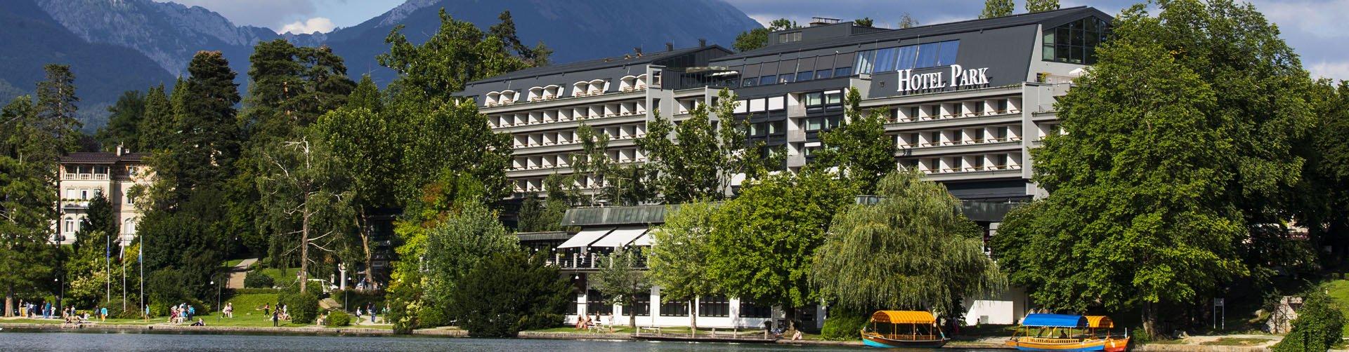Banner Hotel Park in Bled, Slovenië