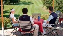 De golfclub van Hotel Grad Mokrice