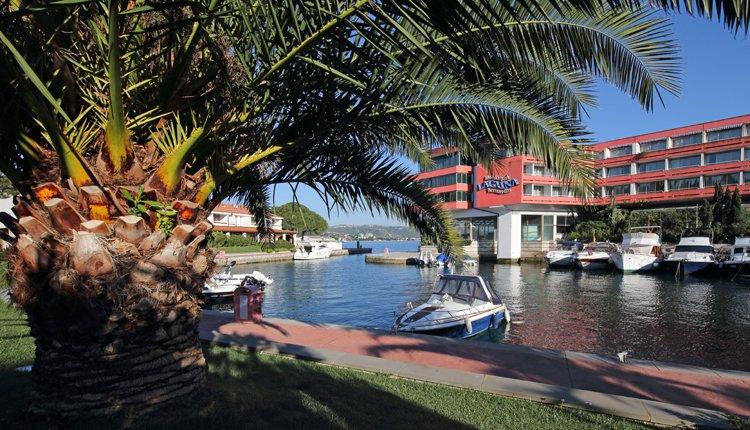 De haven van Hotel Histrion