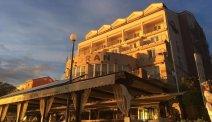 Hotel Marina - fantastisch uitzicht vanuit het restaurant