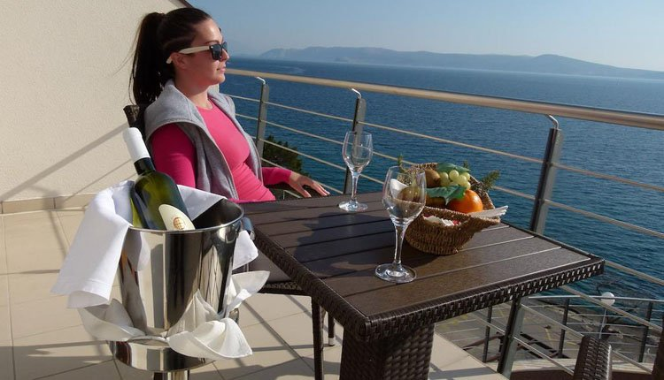 Hotel Marina - 2-persoonskamer balkon zeezicht