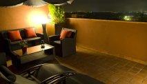 Op de top van Hotel Cal Barber is een kleine Spa
