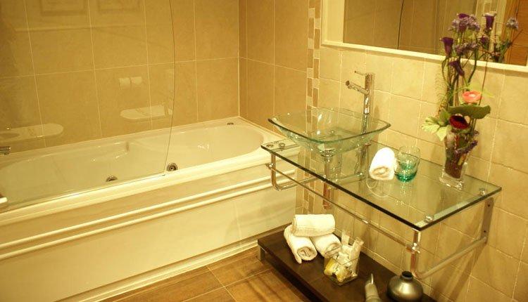 Hotel Cal Barber - 2-persoonskamer Superior, badkamer
