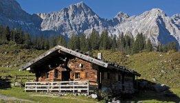 Het Oostenrijkse berglandschap