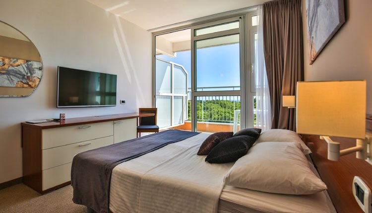 Hotel Holiday - 2-persoonskamer, balkon met zeezicht