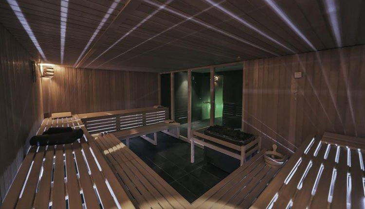 De Spa van Hotel Park Plaza Belvedere heeft o.a. een grote sauna