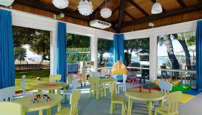 Hotel Park Plaza Belvedere - speelruimte voor de kids