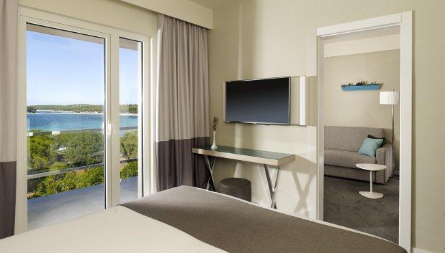 Hotel Park Plaza Belvedere - 2-persoonskamer zeezijde