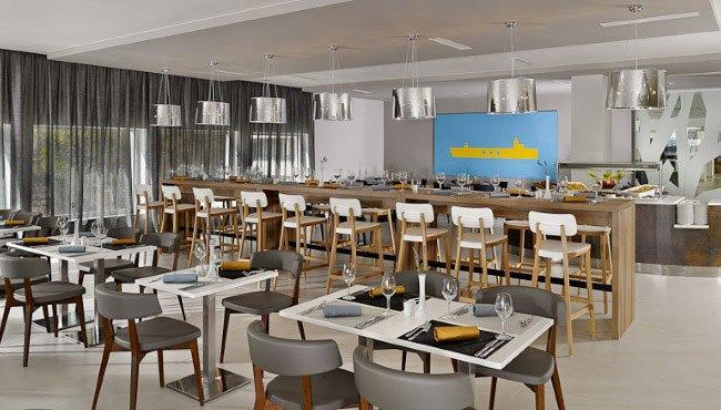 Half pension in standaard inbegrepen bij Hotel Park Plaza Belvedere