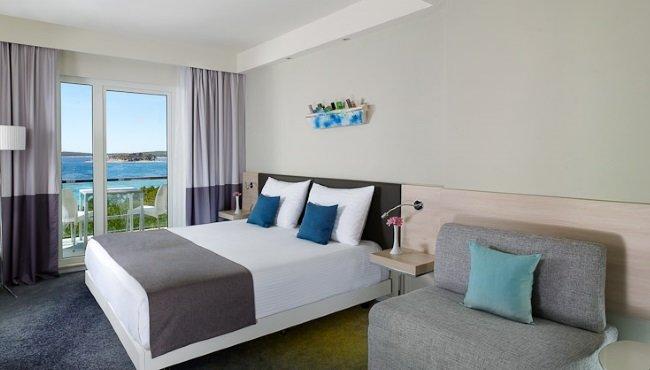 Hotel Park Plaza Belvedere - 2-persoonskamer superior zeezijde balkon