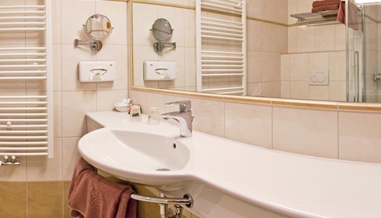 Hotel Alte Post - badkamer