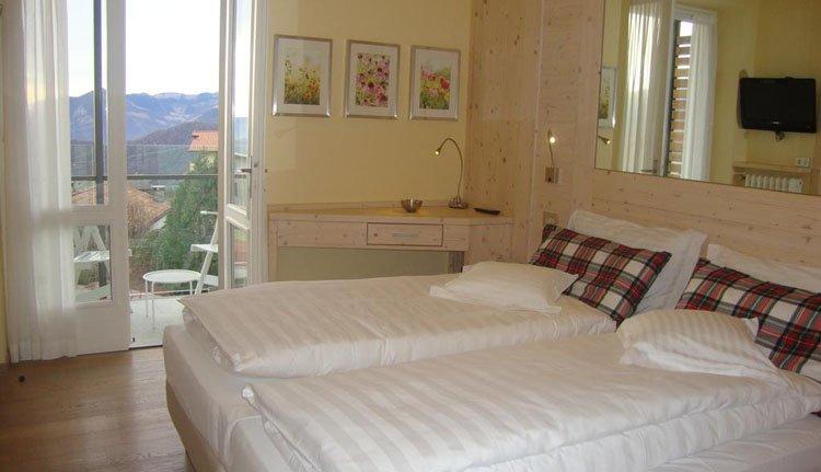 Hotel Miralago - 2-persoonskamer balkon met meerzicht