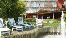 De prachtige tuin van Hotel Miralago