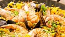 Hotel Miralago - smullen van de paella alla Valenciana