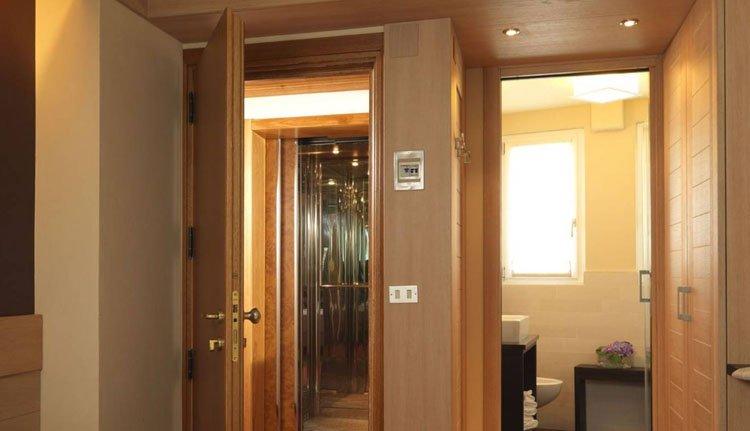 Hotel Miralago - 2-persoonskamer badkamer