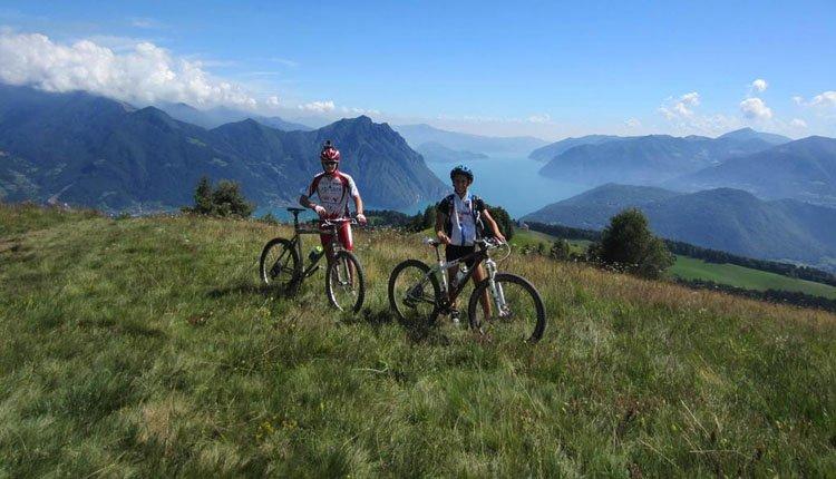 U kunt in de omgeving van Hotel Miralago geweldige m ountainbike tochten maken