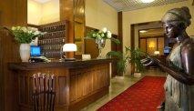 De gastvrije receptie van Hotel Parma e Oriente