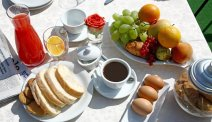 Heerlijk ontbijtje bij Hotel Panoramico