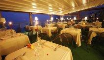 In het restaurant van Hotel Panoramico heeft u fenomenaal uitzicht