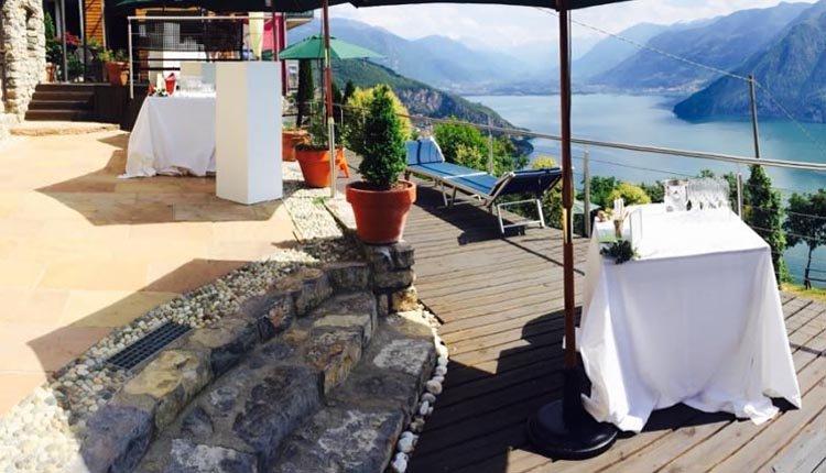 Terras van Hotel Panoramico... puur genieten!