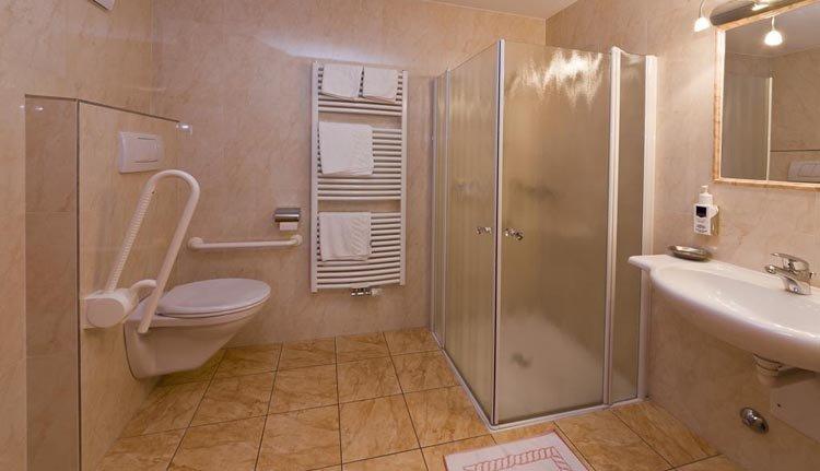 Hotel Seppi - badkamer