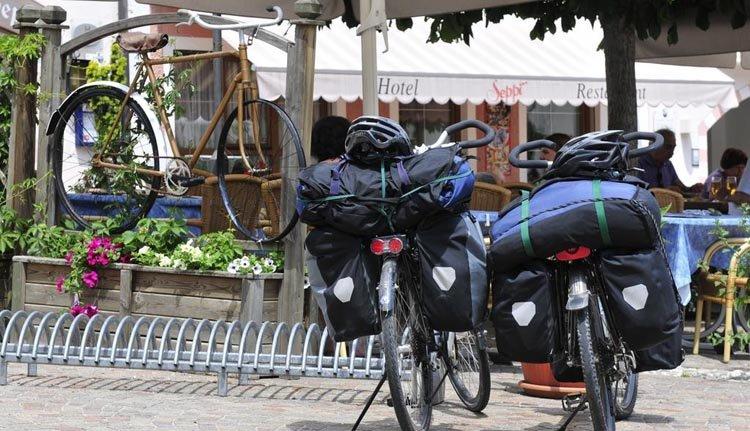 Prachtige fietsroutes starten bij Hotel Seppi