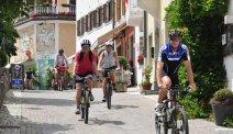Vanaf Hotel Seppi starten diverse fietsroutes