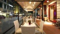 Hotel Puccini is aan een gezellig straatje gelegen