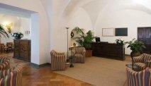 De lobby van Hotel Tiferno