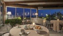 Het gezellig ingerichte restaurant van Hotel delle Nazioni