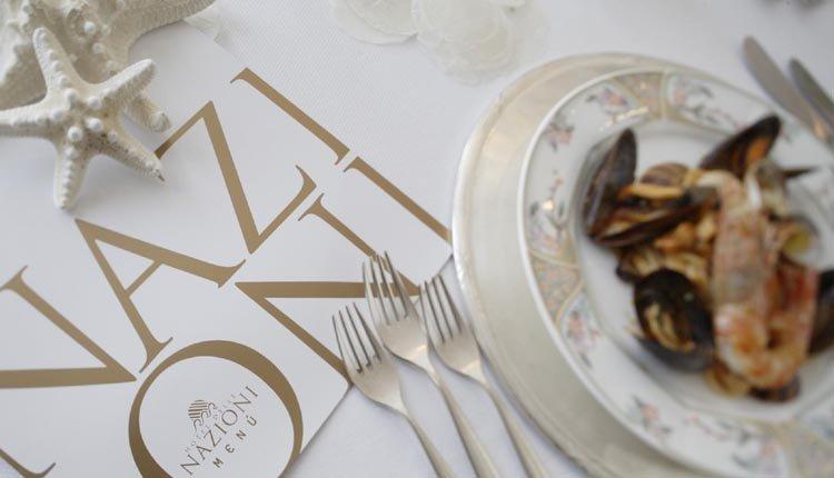 Altijd wel iets smakelijks te vinden op de menukaart van Hotel delle Nazioni