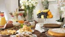 Elke morgen staat er een uitgebreid ontbijtbuffet klaar in Hotel Alexia Palace