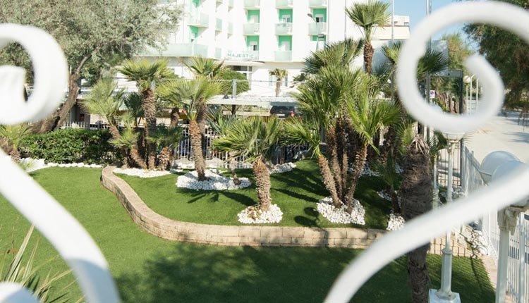Hotel Il Continental is zeer groen gedecoreerd