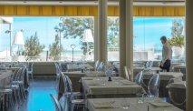 Het gezellige restaurant van Hotel Il Continental