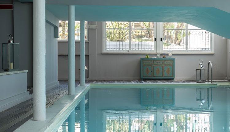 Het zwembad van Hotel Il Continental