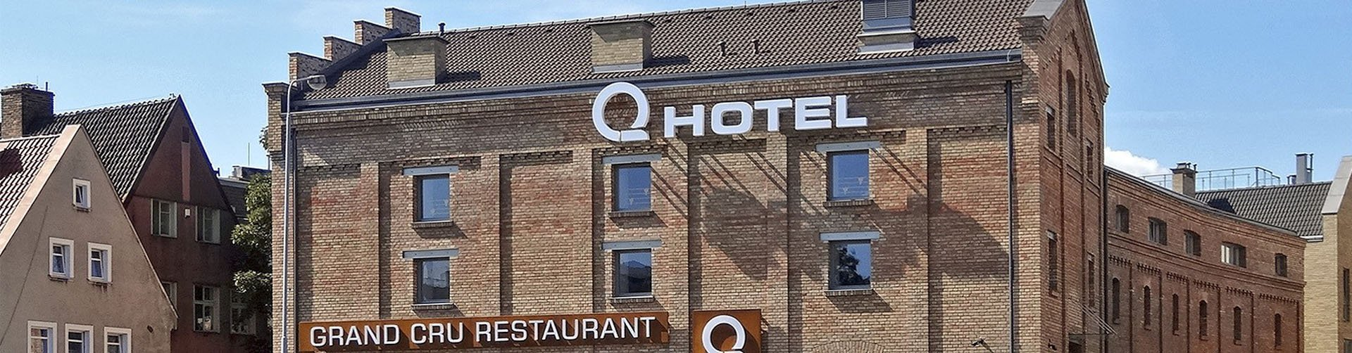 Banner Hotel Grand Cru in Gdansk