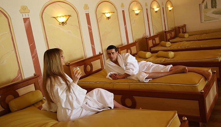 Verwarmde hydrobedden bij Hotel Lagorai om heerlijk te ontspannen