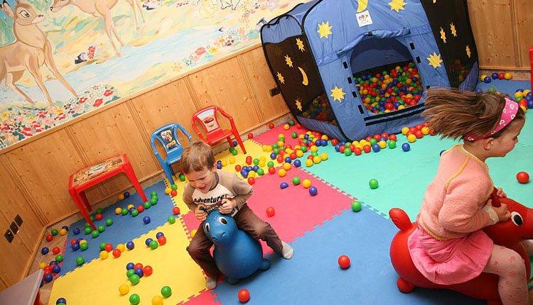 Hotel Lagorai - speelruimte voor de allerkleinsten
