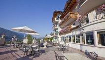 Hotel Lagorai - terras met panoramisch uitzicht