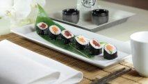 Hmmm... verrukkelijke sushi bij Wellness Hotel Waldecker Hof