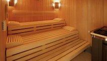 Ontspannen in de sauna van Wellness Hotel Waldecker Hof