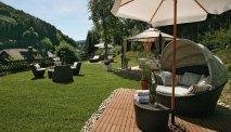 Wellness Hotel Waldecker Hof - heerlijke spa en relax tuin