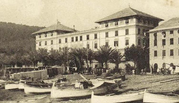 Hotel Arenzano aan de Bloemenriviera in vroegere tijden